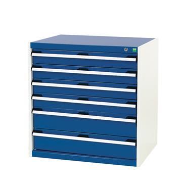 Bott, Sliding Door Cupboards, Drawers 4x 100, 2x 150