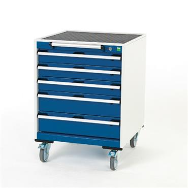 Bott, Deep Mobile Cabinets, Drawers 3x 100, 2x 150