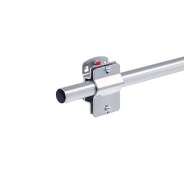 RasterPlan, Clamping Piece Holder For Round Piping Aluminium, Ø19