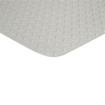 "VDE Switchboard Diamond Deck Plate Matting 3/16"", 3""x75"""