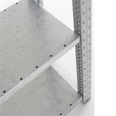 Galvanised Additional Shelf, L1300 x D400