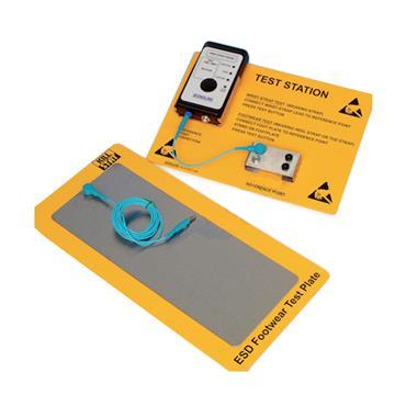 Footwear/ Wrist Strap Test Station