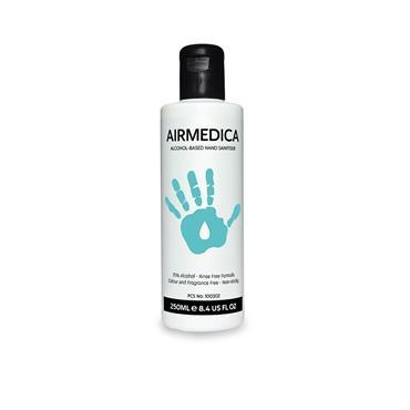 Airmedica 250ml 70% Alcohol Hand Sanitiser
