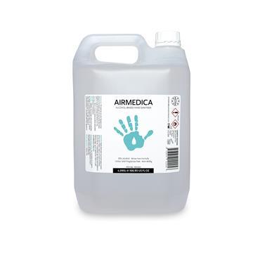 Airmedica 4995ml 70% Alcohol Hand Sanitiser