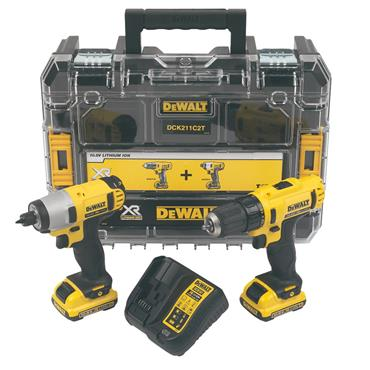 DeWalt 10.8V XR Drill Driver and Impact TSTAK Combo