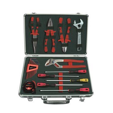 Ega Master Mechanics Tool Set Including Tool Case, 21 Piece