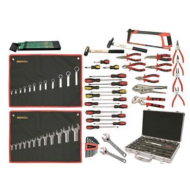 Ega Master Mechanics Tool Set Including Tool Case, 105 Piece