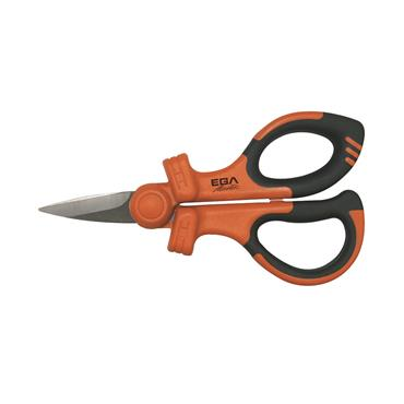 Ega Master VDE Insulated Electricians Scissors