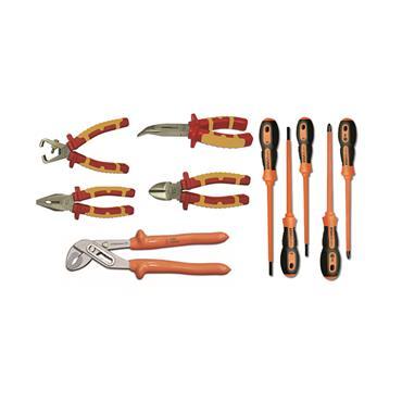 Ega Master Electricians Tool Set Including E51013 Tool Bag, 10 Piece