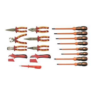 Ega Master Electricians Tool Set Including E51013 Tool Bag, 17 Piece