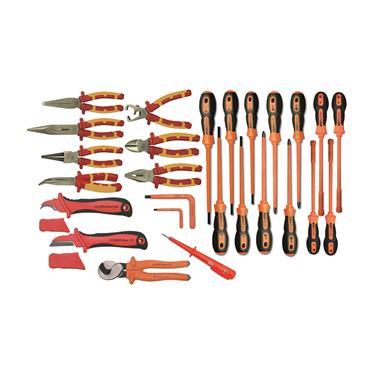 Ega Master Electricians Tool Set Including E51013 Tool Bag, 26 Piece