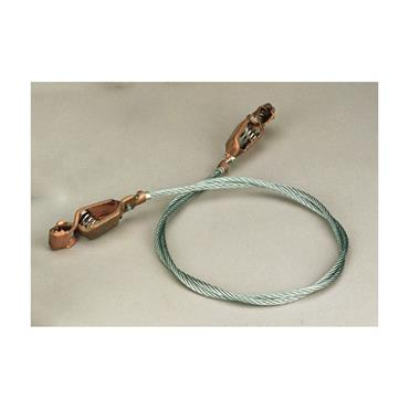 Grounding Wire with Alligator Clips