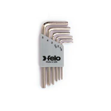Felo Nickel Plated Key Set