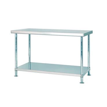 Stainless 304 Workbench w/ Undershelf & Adjustable Height