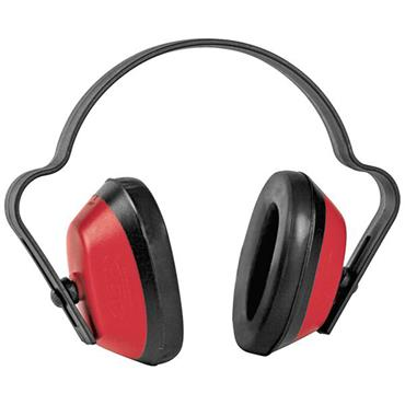 Ear Defender Economuff Red / Black