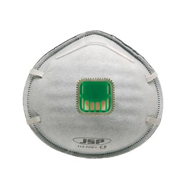 JSP, Moulded Disposable Mask FFP1 113 Odour Valved Welding