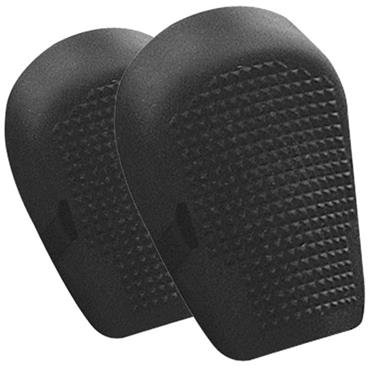 Rubber Flexible Knee Pads, Black, One Size Fits All