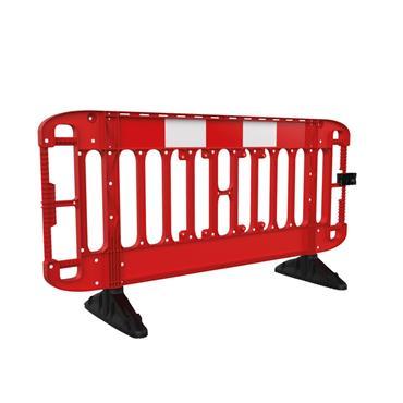 JSP Titan® 2m Injection Moulded Road Traffic Barrier - Red