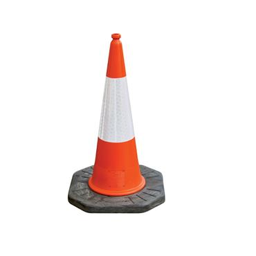 JSP Dominator™ 1m Road Traffic Cone with Sealbrite™ Sleeve