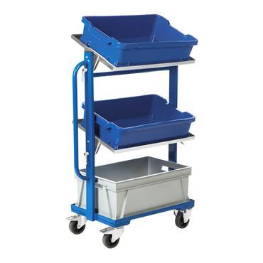 Kongamek Tray & Bin Trolley