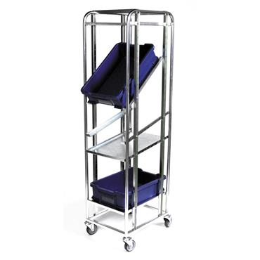 Kongamek ESD Flexible Bin Trolley, with Brakes