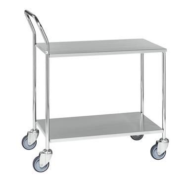 Kongamek Shelf Trolley, with Brakes