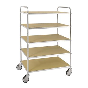 Kongamek ESD 5 Shelf Trolley, with Brakes