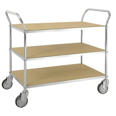 Kongamek ESD 3 Shelf Trolley, with Brakes