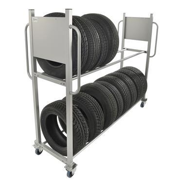 Kongamek Tyre Storage Trolley