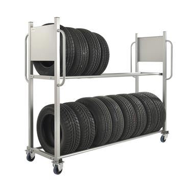 Kongamek Tyre Storage Trolley