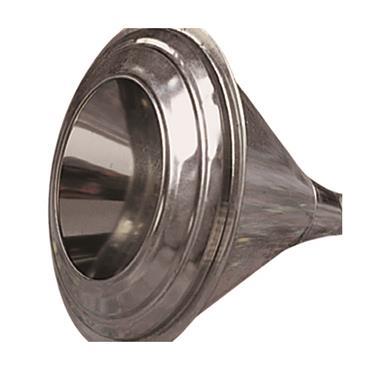 Anti-Splash Metal Funnel