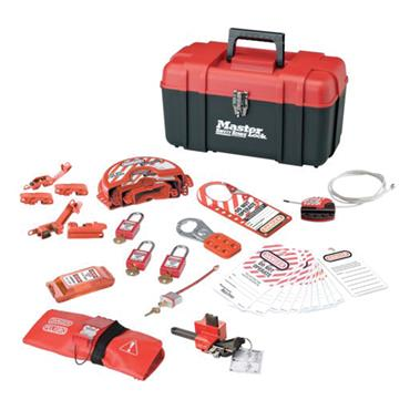 Master Lock, Personal Lockout Kit Valve and Electrical