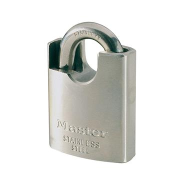 Master Lock, 550EURD Marine Padlock with Shrouded Shackle