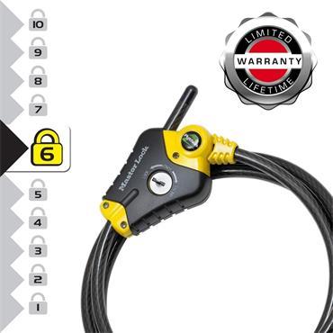 Master Lock, Python Adjustable Locking Cables, 4.5m