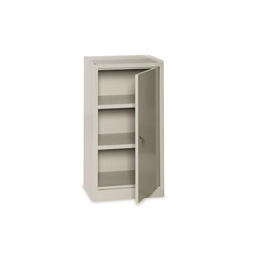 Cupboard with 1 Lockable Door, 2 Adjustable Shelves