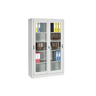 Cupboard with Glass Sliding Doors