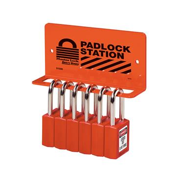 Master Lock, Heavy Duty Padlock Racks