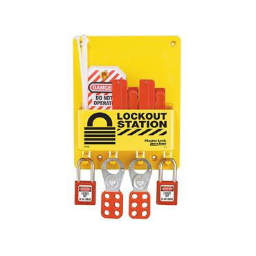 Master Lock, Electrical Lock Out Station