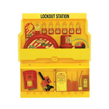 Master Lock, Lock Out Station / Tag Station