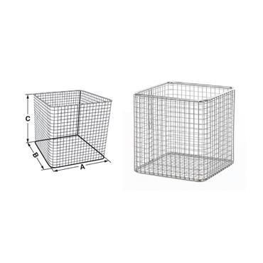 Bochem Lab Supply, Wire Basket Square