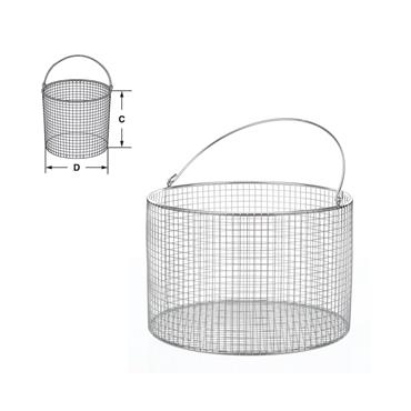 Bochem Lab Supply, Wire Basket Round