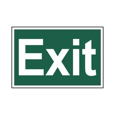 Safety Signs: Fire Safety & Safe Condition, Exit