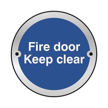 Safety Signs: Fire Door, Keep Shut