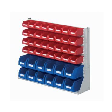 RasterPlan System Units with Plastic Bins, Size 3 Two Sided