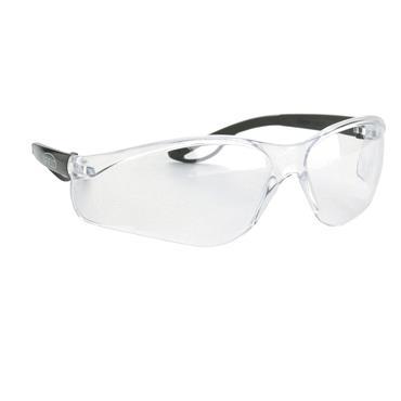 Infield Raptor Safety Glasses, Clear Lens
