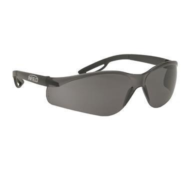 Infield Raptor Safety Glasses, Grey Lens