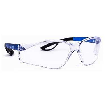 Infield Safety Specs Raptor, Blue Frame, Clear AF Lens