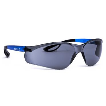 Infield Safety Specs Raptor Sun Blue Frame / Grey Lens