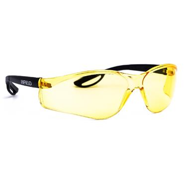 Infield Raptor Safety Glasses, Yellow Lens