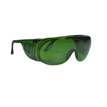 Infield Safety Visitor Welding Safety Glasses, Green